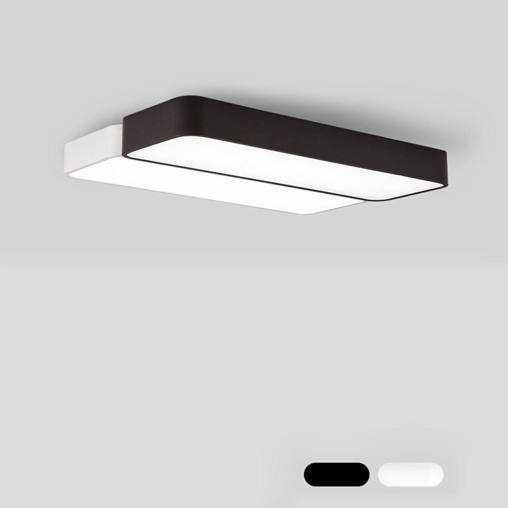 LED Modern Ceiling Light Lamp dimmable Surface Mount Flush Panel Rectangle Lighting Fixture Bedroom Living Room Office 110V 220V