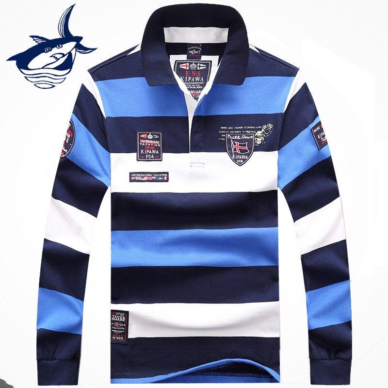 2017, Новая мода брендовая одежда tace & Shark свитер Для мужчин пуловер в полоску Для мужчин S свитер Мода в деловом стиле Акула Костюмы T659