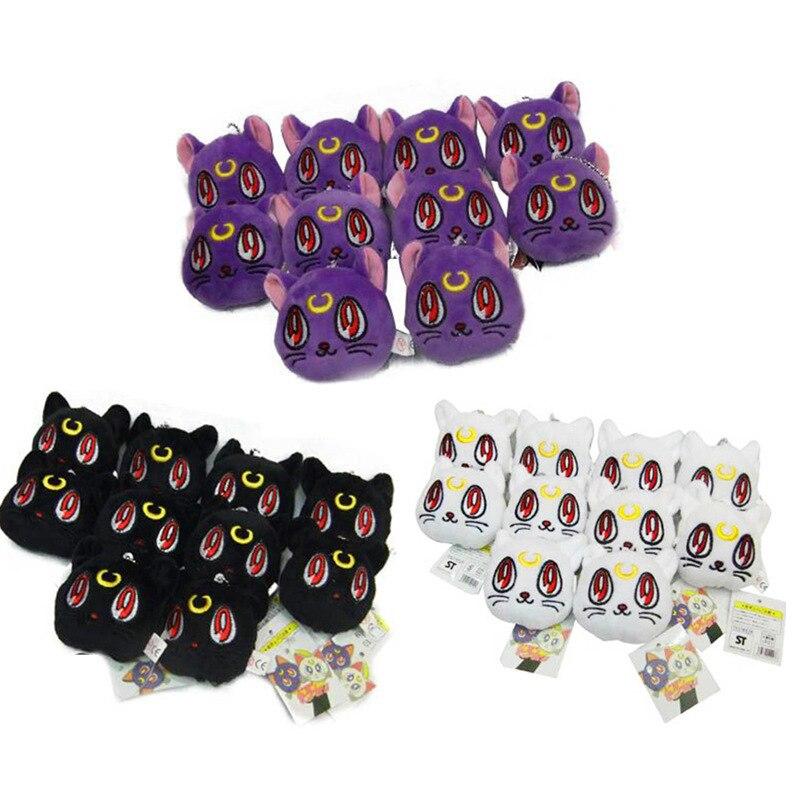 Anime Sailor Moon 3pcs / set set de pisici pentru pisici Lunar Artemis Diana