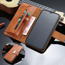Luxury Vintage Leather Case Etui For iPhone 11 Pro XS Max XR X Wallet Cover Coque Flip For iPhone 5 6 6s 7 8 Plus 5S SE Casing цена и фото