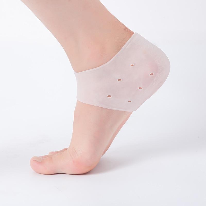 1 par de favo de mel de silicone gel antiderrapante antepé meia jarda palmilhas para palmilhas de almofada de salto alto solas aliviar a dor do pé