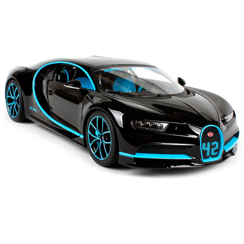 Maisto Bburago 1:18 2017 Bugatti Chiron Sports Car Diecast Model Car Toy New In Box Free Shipping New Color NEW ARRIVAL LP770-4