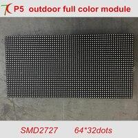 320 160mm P5 Outdoor SMD 8S Full Color Module 64 32 Pixels 40000dots M2