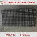 320*160mm P5 SMD 8 S módulo full color ao ar livre, 64*32 pixels, 40000 pontos/m2