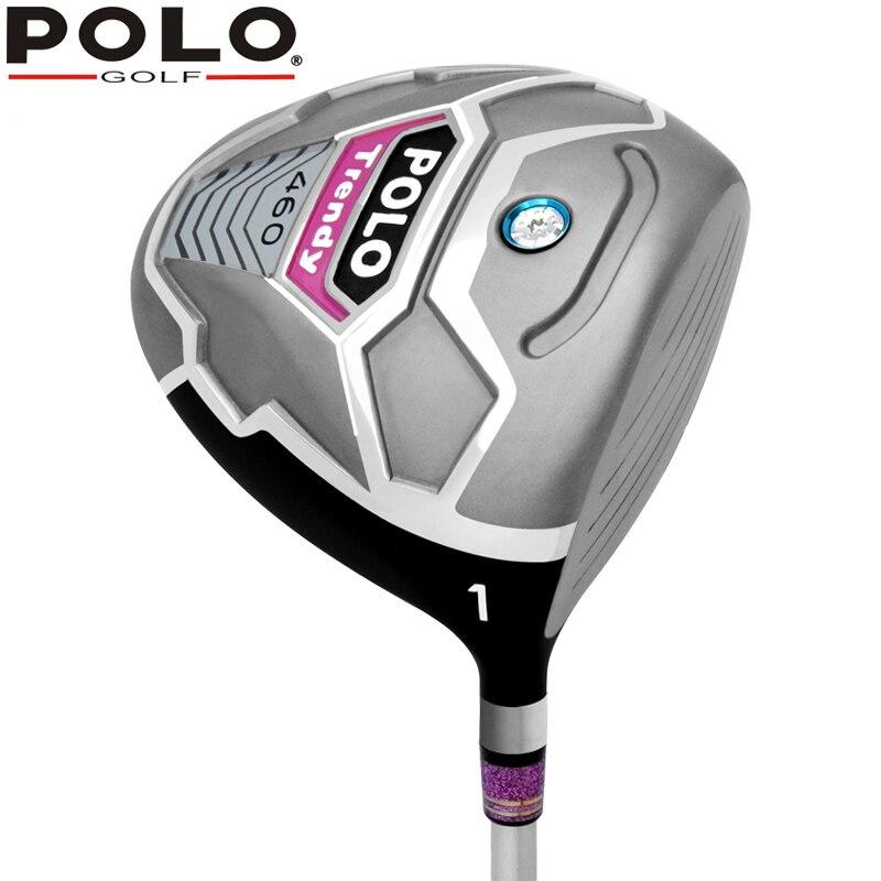 POLO Golf Club Conductor Genuino Señora R 12.5 grados #1 madera Aleación de Tita