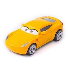 Disney Pixar Cars 3 No.95 Cruz Ramirez Lightning McQueen Jackson Storm Mater 1:55 Diecast Metal Alloy Model Car Toy Kids Gift disney pixar cars 3 new lightning mcqueen jackson storm cruz ramirez diecast alloy car model children s day gift toy for kid boy