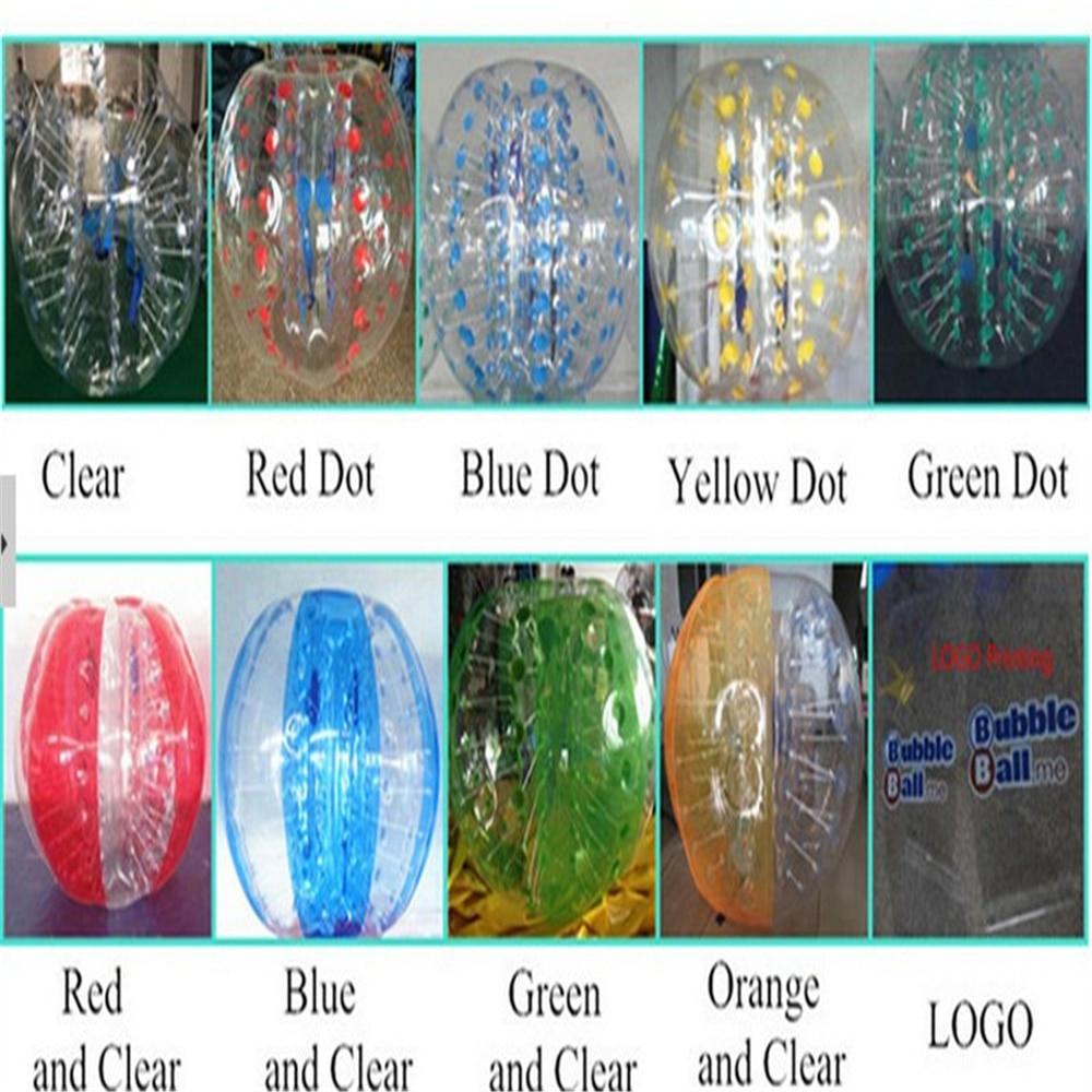 1.5M PVC Bubble Soccer Futbol satılır plastik böyüklər üçün - Komanda idman növləri - Fotoqrafiya 6