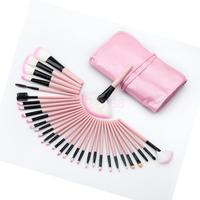 32 Pcs Makeup Brushes Set Cosmetic Brushes Make Up Kit With Pink Pouch Bag
