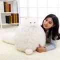 Kawaii большой размер большой белый кот кукла плюшевые игрушки удобные мягкие плюшевые кошка подушка подушки Подруга подарок на день рождения Валентина