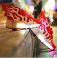 2016 New Brand roller wheels Children Wheel Shoes With LED Lighted Flashing Kids Sneakers Fashion Flame Wings Roller Skates