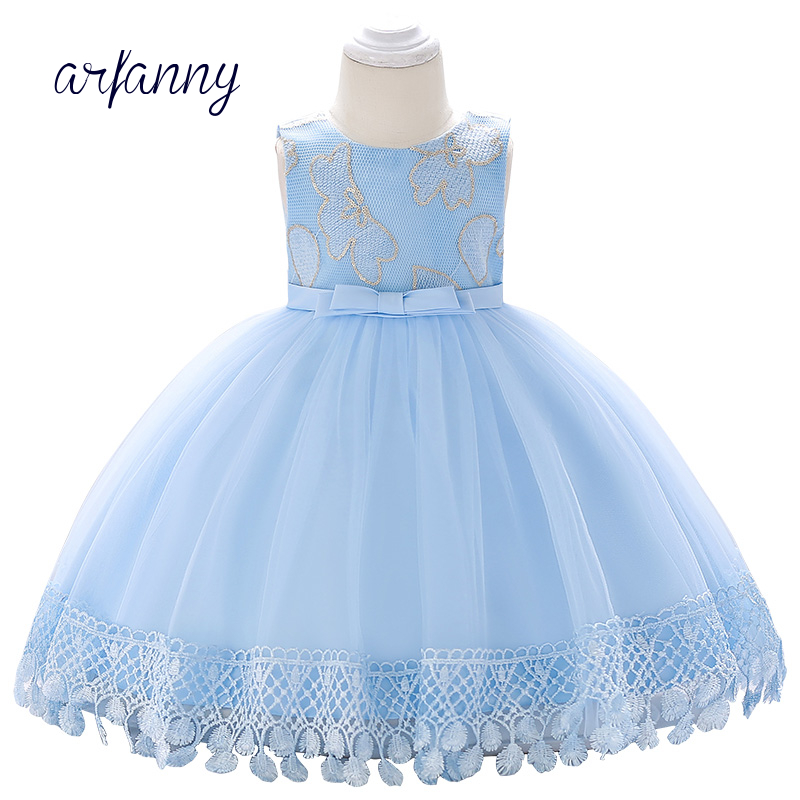 Baby Girl Dress Clothes Birthday Girls Infant Baptism Dresses 0 1 2 Year Kids tassel Flower lace temperament Christening Dress flower girls dresses for party and wedding little baby 1 year birthday baptism dress kids floral lace vestido infant bow clothes