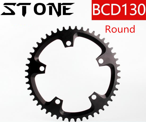 Round/Oval 130BCD 40T/42T/44T/46T/48T/50T/52T/54T/56T/58T/60T Cycling Chainring MTB Bike Chainwheel Crankset Plate BCD 130 звезда rotor chainring bcd110x5 outer black to36 52t c01 502 09010a 0