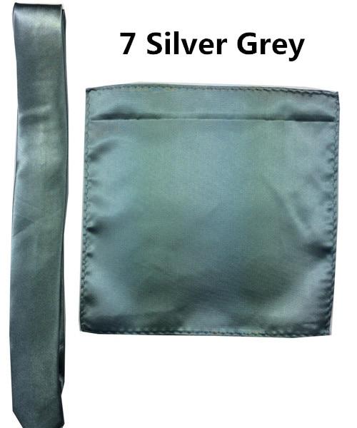 7 _  39 Colours Man Polyester Silk Pocket Sq. Tie Go well with Set Hanky Groom Wedding ceremony Fits Enterprise Handkerchief Necktie ZY186117 HTB1ZKvEiOAnBKNjSZFvq6yTKXXa9