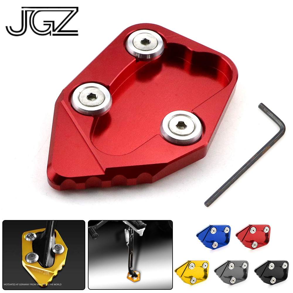 Motorcycle CNC Side Stand Enlarger Foot Plate Extension Pad Kickstand for Honda <font><b>CBR1000RR</b></font> <font><b>2008</b></font> - 2011 2012 2013 2014 2015 2016 image
