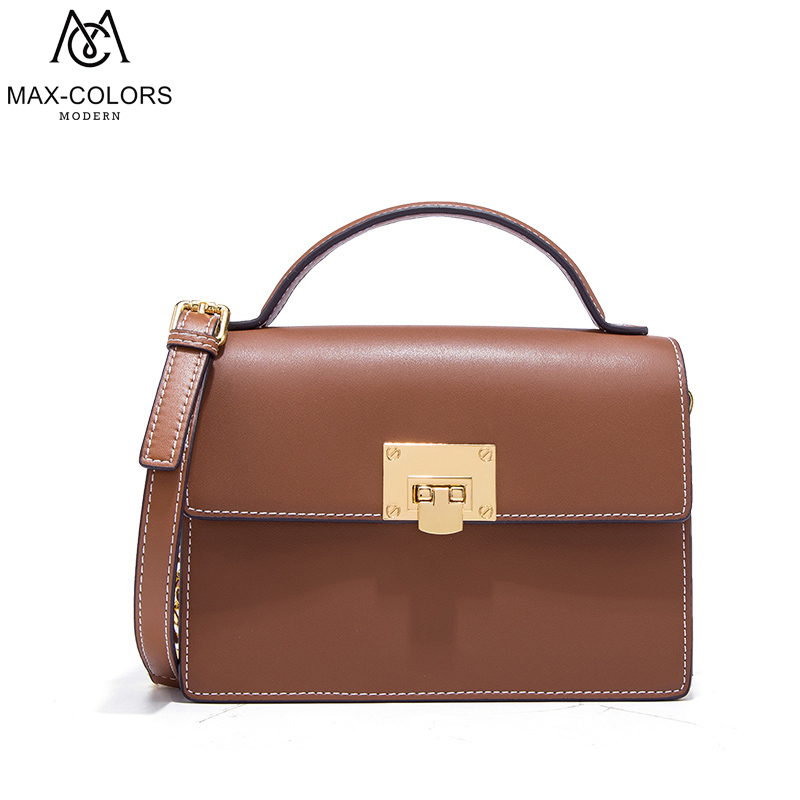 MC Brand Luxury Handbags Women Bags Split Leather Lady Fashion HASP Messenger Bag Female Flap Shoulder Bags Casual Tote Summer 2017 new classic casual patchwork large tote lady split leather handbags popular women fashion shoulder bags bolsas qn029 page 3
