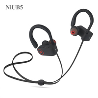 NiUB5 U8 Bluetooth 4 1 Sport Earphone Handfree Wireless Bluetooth Headset Earphones With Mic Sports