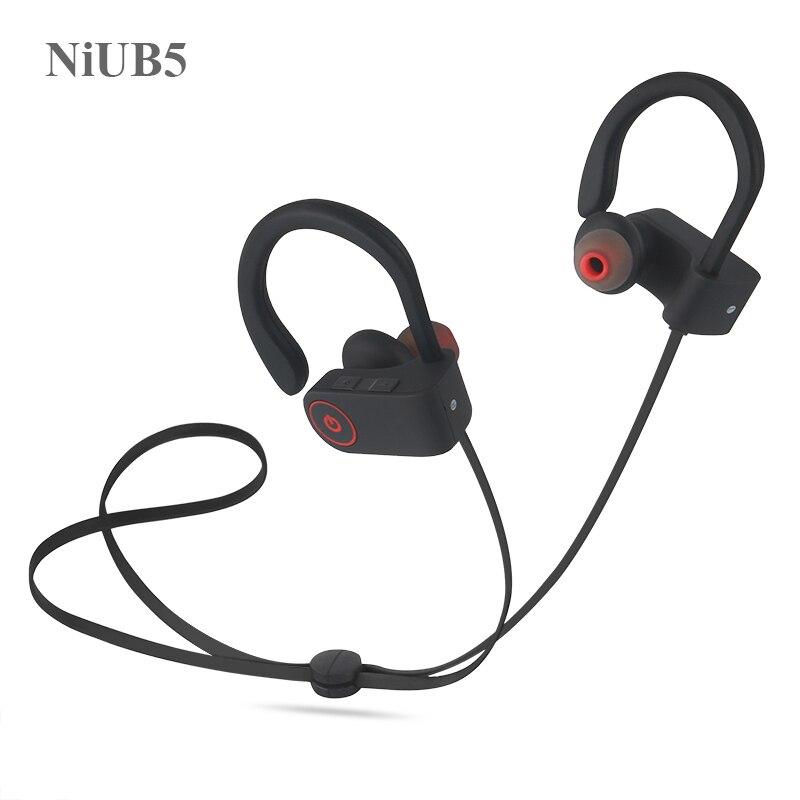 bilder für Original niub5 u8 bluetooth sport kopfhörer wireless bluetooth headset kopfhörer mit mic 2017 heißer verkauf bluetooth earbuds
