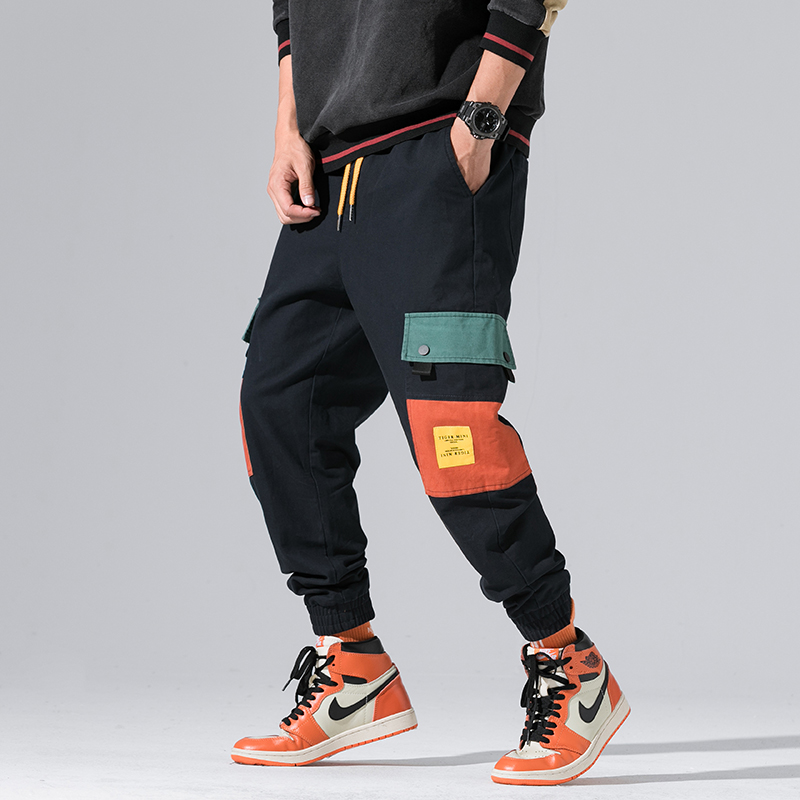 2019 New Autumn Military Track Pants Men Fashion 1