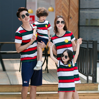 Family Matching Outfits Family Clothing Mother And Daughter Dress Clothes Father And Son Clothes Family Clothing