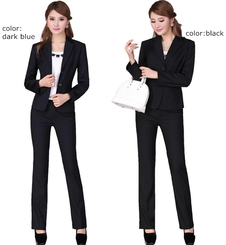 Women Business Suits Formal Office Work Professional Wear Las Pants Elegant Womens Blazer With In Pant From S
