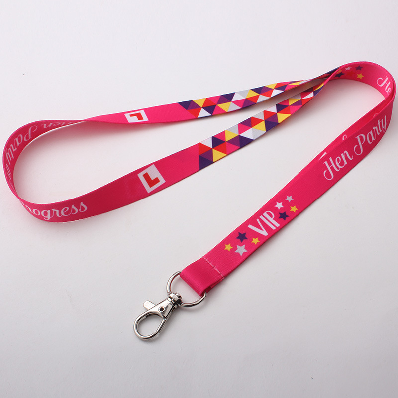 Image 3 - 250pcs/lot DHL free shiping Customized lanyard 20mm wide sublimation polyester lanyard Heat Transfer Logo,Custom lanyards-in Mobile Phone Straps from Cellphones & Telecommunications