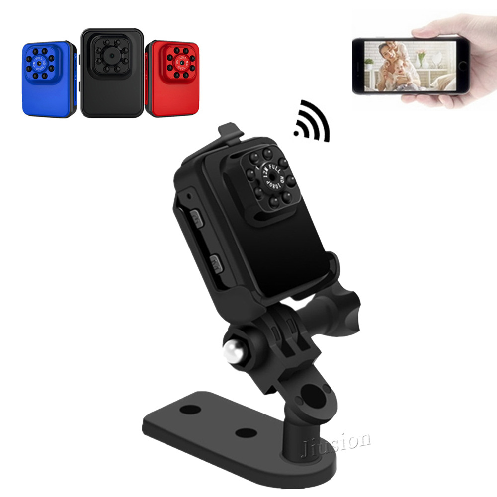 Mini WiFi Camera Full HD 1080P Micro Sports Action DVR Camcorder with Night Vision Small Portable Car Recorder