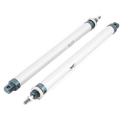 16 x 200mm Single Rod Double Action Stainless Steel Pneumatic Air Cylinder 2PCS  Free Shipping sc50x75 single rod double action pneumatic air cylinder