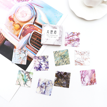 40 pcs/lot Cute marble Mini Sticker Decoration DIY Diary Planner Scrapbooking Stickers kawaii label stickers Stationery
