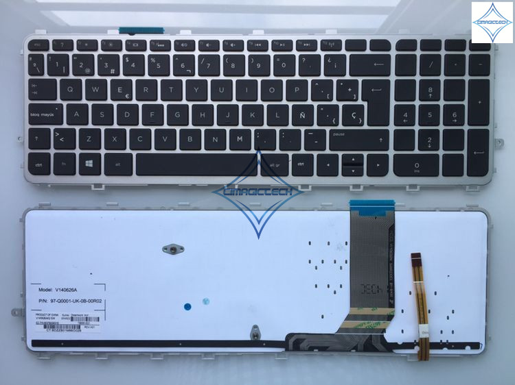 new for HP envy 15 J 17 J 15T J 15Z J 15 J000 15t j000 15z j000 15 j151sr 17T J000 LA SP spanish laptop keyboard teclado