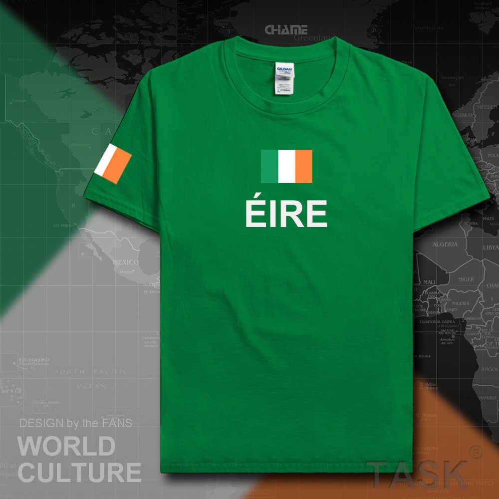 Eire Ireland mens t shirts fashion 2017 jerseys nation team cotton t-shirt meeting fitness clothing tees country flag The Irish