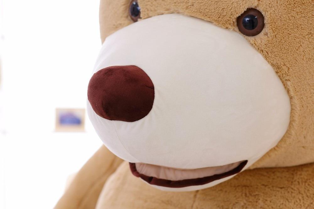 200CM 78 39 39 inch giant stuffed teddy bear soft big large huge brown plush stuffed soft kid children doll girl birthday gift in Stuffed amp Plush Animals from Toys amp Hobbies