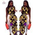 Estilo de La Manera Más Tamaño 6xl Riche Bazin Africano Dashiki BRW ropa dress personalizadas áfrica ankara cera imprimir vestidos para las mujeres Y430