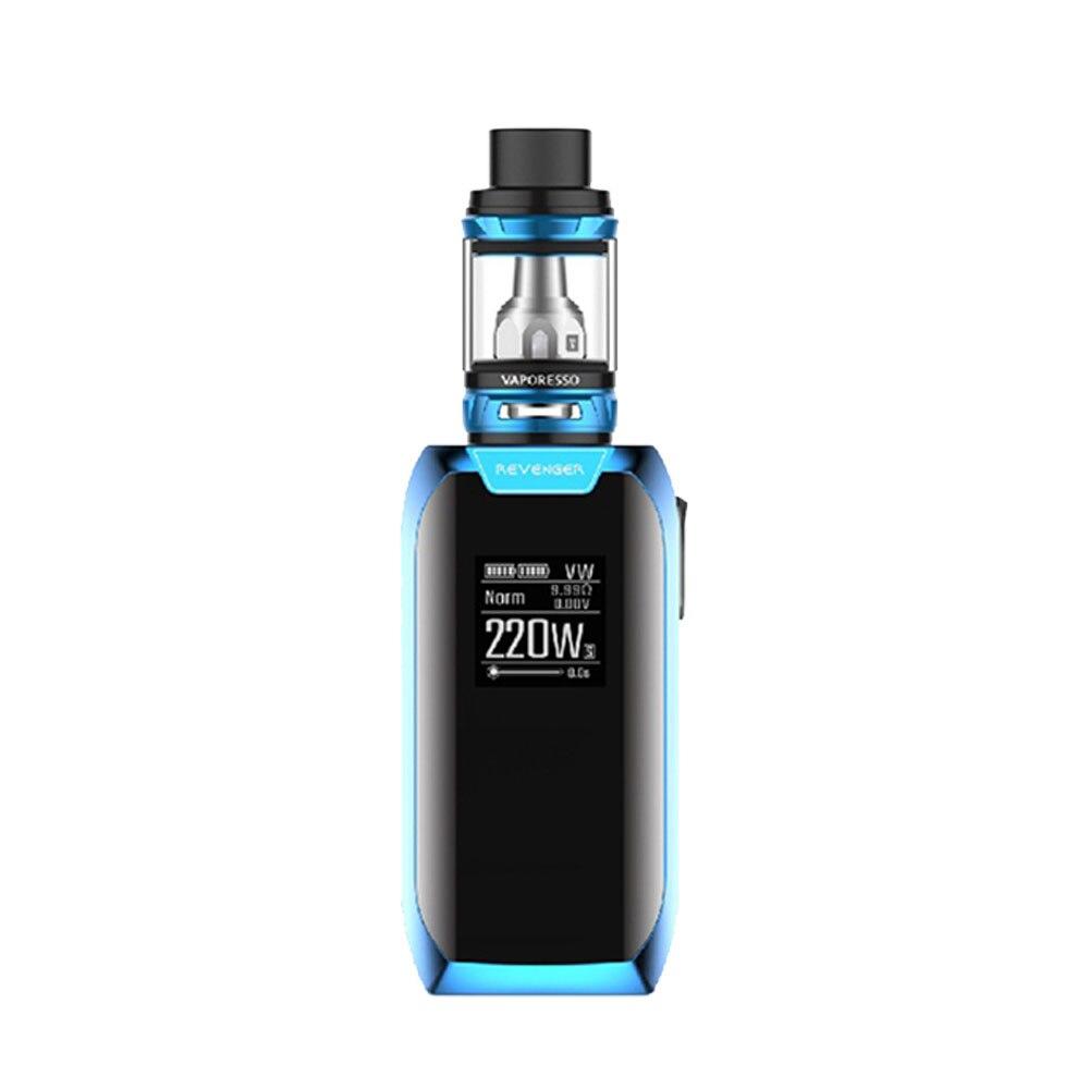 E-cigarettes 220 W Vaporesso Revenger X TC Kit avec 5 ml/2 ml NRG réservoir & OMNI Board 2.2 puce & GT cœurs No 18650 batterie Vape Kit - 4