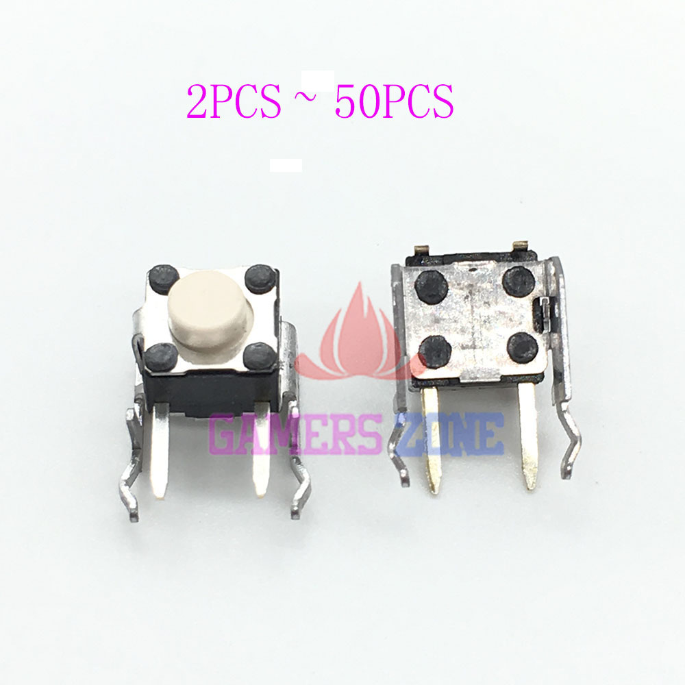 2pcs ~50pcs For XBOX ONE & XBOX 360 CONTROLLER LB RB BUMPER BUTTON REPLACEMENT PART PCB SENSOR boxpop lb 002 45