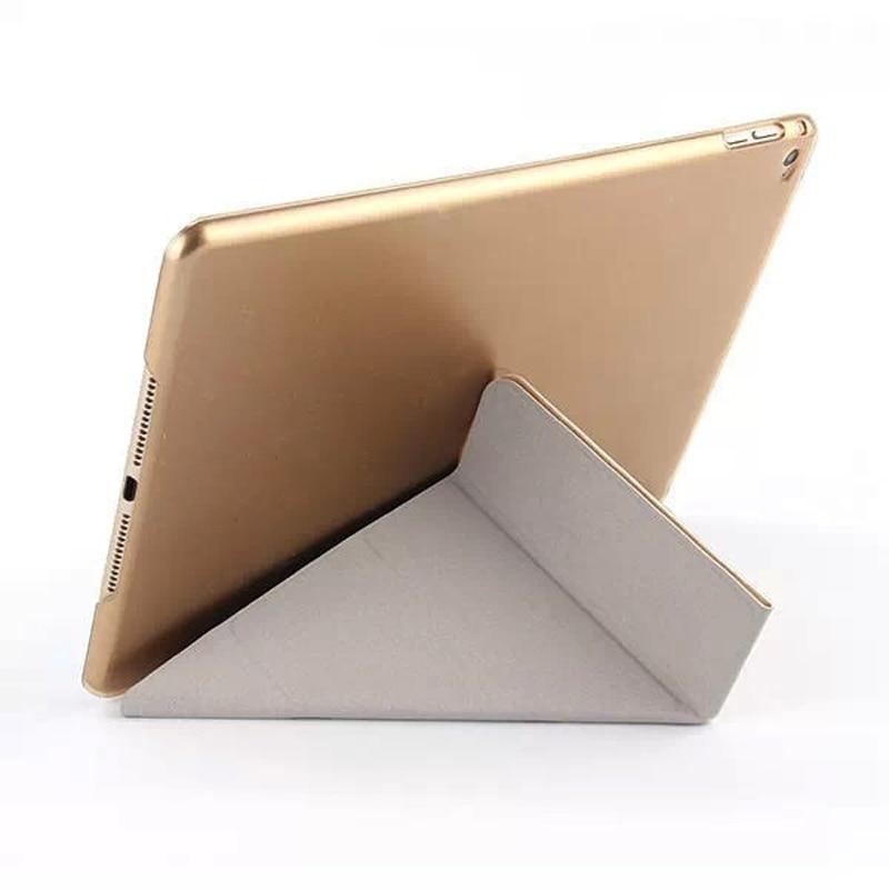 4 формы ультра тонкий шелк Smart PU кожаный чехол подставка для Apple iPad Air 2 прозрачный чехол для iPad 6 автовключение/сна S