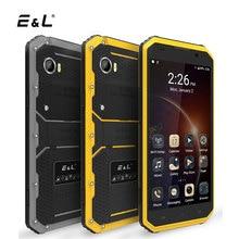 E & L W9 смартфон 6.0 дюймов Full HD 2 ГБ + 16 ГБ 5MP + 8MP IP68 Водонепроницаемый противоударный MTK6753 восьмиядерный 4000 мАч Moible Телефон Android 6.0