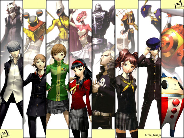 Persona 4 Anime Characters Database : Shin megami tensei persona game fabric poster quot