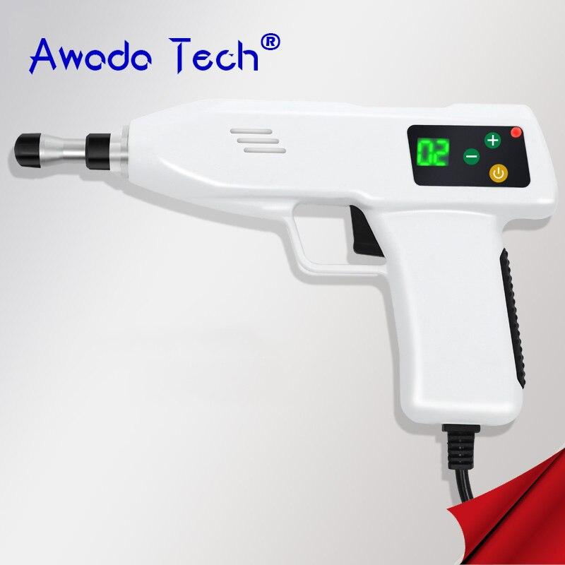 4 уровня 6 главы регулируемые хиропрактика позвоночника инструмент Электрический коррекция кости пистолет активатор шейки терапия массаже...