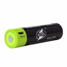 2 uds ZNTER 1500MAH Lipo batería de polímero de litio 3,7 V 18650 baterías recargables para linterna powerbank RC transmisor partes