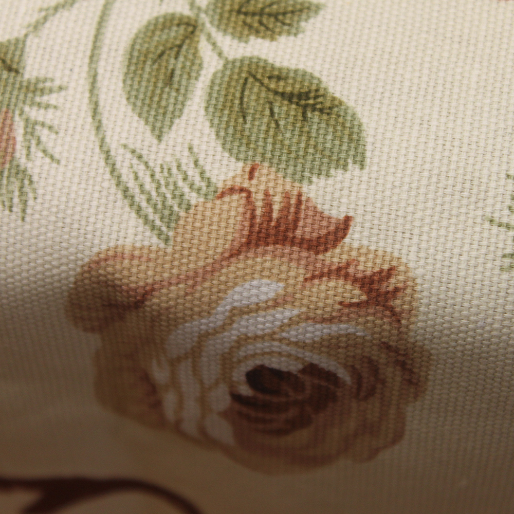 CURCYA Beige Tablecloth for Home Kitchen Decoration Garden Flowers 100% Cotton Table Cloth Cover for Dinner Table