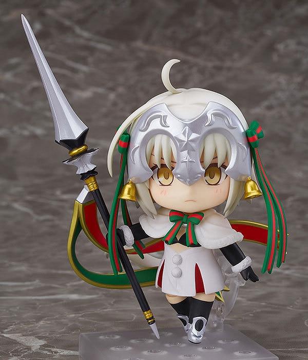 Anime Fate Grand Order Avenger Lancer Jeanne d'Arc Alter Santa Lily 815 Nendoroid Mini Action Figure