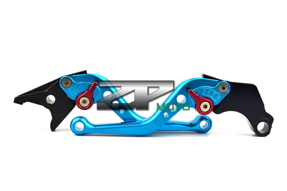 CNC/Leviers de freins et d/'embrayage Accessoires pour motos Kawasaki Ninja 650R ER-6F ER-6N 2006 2007 2008