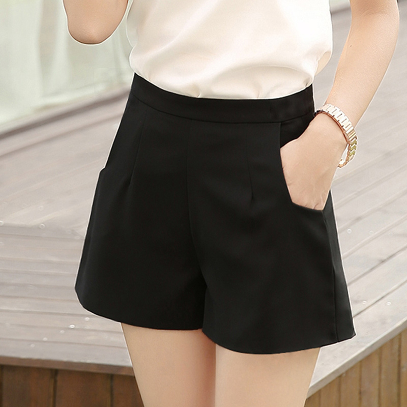 Aliexpress.com : Buy Summer Women Shorts Chiffon Loose Slim Mid ...