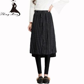 c1ee3c2b1 SHINYMORA A Line PU faldas cortas mujer alta cintura moda delgada faldas de  cuero mujer elegante ...