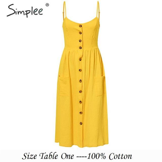 SIMPLEE Eksootiline kleit