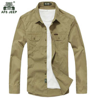 Free Shipping Size M 3XL High Quality Summer Men S Military Uniform Style Men Casual Long