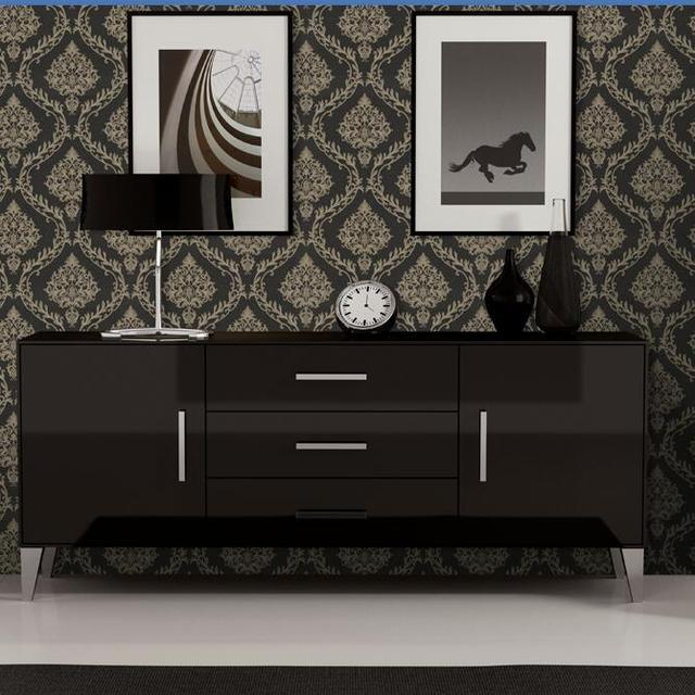 Schlafzimmer Modern Rustikal Schwarz Weiss Mit Schrage: Luxus Schlafzimmer Schwarz