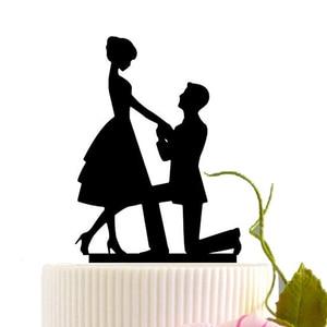 Image 5 - Acryl Bruidstaart Topper Bruid Bruidegom Mr Mrs Acryl Cake Topper Zoete Bruiloft Decoratie Mariage Feestartikelen Volwassen Gunsten
