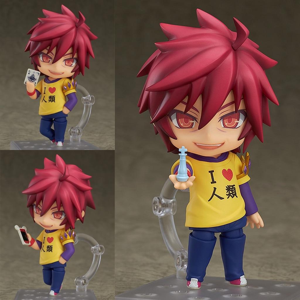 KEIN SPIEL KEIN LEBEN Shiro 653/Sora 652 Nendoroid PVC Action Figure Sammeln Modell Spielzeug