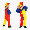 2016 Children Kids Baby Jumpsuits & Rompers+Hat Halloween Carnival Clown Circus Cosplay Costumes Performance Clothing Party